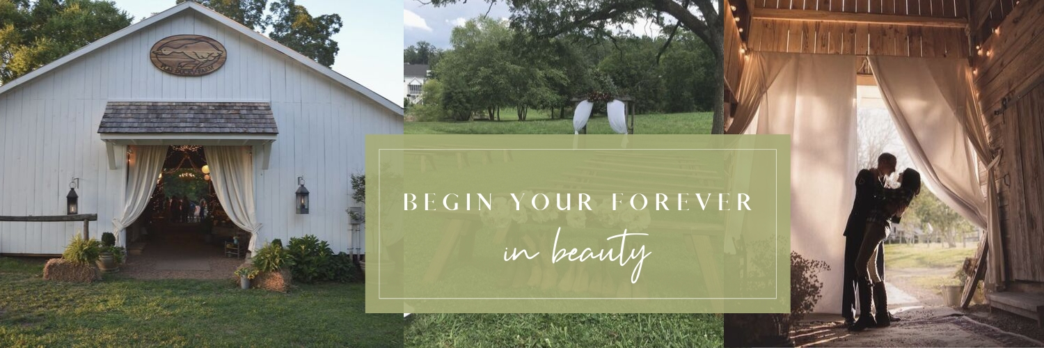 begin your forever in beauty